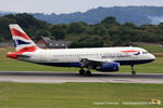 G-EUOI @ EGCC - British Airways - by Chris Hall