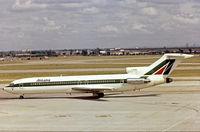I-DIRC @ EGLL - Boeing 727-243 [21269] (Alitalia) Heathrow~G 24/06/1978. From a slide.