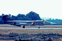 D-8098 @ EGVI - Lockheed F-104G Starfighter [683-8098] (Royal Netherlands Air Force) RAF Greenham Common~G 07/07/1974. From a slide. - by Ray Barber