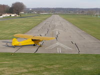 N2075M @ I73 - Piper J3C Cub Position and Hold - by Christian Maurer