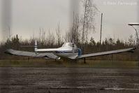 CF-NTU @ CYYD - Parked at Tsayta Air hanger - by Remi Farvacque