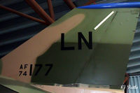 74-0177 @ EGWC - Tail detail - Preserved within the Royal Air Museum at RAF Cosford EGWC. - by Clive Pattle