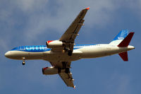 G-MEDK @ EGLL - Airbus A320-232 [2441] (bmi British Midland) Home~G 31/03/2011. On approach 27R.