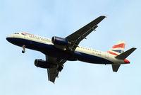 G-MEDK @ EGLL - Airbus A320-232 [2441] (British Airways) Home~G 15/01/2013. On approach 27R.