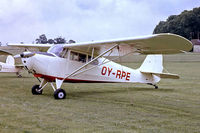 OY-RPE @ EGTH - Aeronca 11AC Chief [11AC-1603] Old Warden~G 13/07/1980. From a slide.