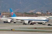 B-2042 @ KLAX - Boeing 777-F1B - by Mark Pasqualino