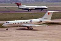 A9C-BG @ EGLL - Gulfstream G2TT [202] (Bahrain Royal Flight) Heathrow~G 23/05/1978. From a slide. - by Ray Barber