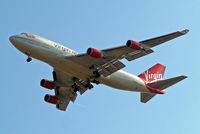 G-VHOT @ EGLL - Boeing 747-4Q8 [26326] (Virgin Atlantic) Home~G 15/05/2010. On approach 27R.