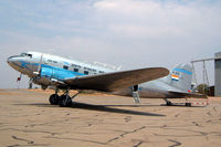 ZS-BXF @ FASK - Douglas DC-3C-47A-1-DK [12107] (South African Airways Historic Flight) Swartkop~ZS 06/10/2003