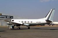D2-EXB @ FAGM - Grumman G-159 Gulfstream I [166] Johannesburg-Rand~ZS 07/10/2003 - by Ray Barber