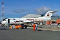 ZS-JAV @ FAYP - Fokker F.28-4000 Fellowship [11161] (AirQuarius) Ysterplaat~ZS 23/09/2006