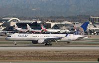 N590UA @ KLAX - Boeing 757-200 - by Mark Pasqualino