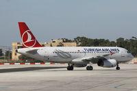 TC-JPC @ LMML - A320 TC-JPC Turkish Airlines - by Raymond Zammit