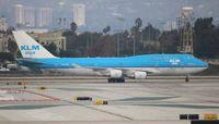 PH-BFY @ LAX - KLM Asia