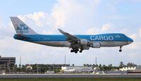 PH-CKA @ MIA - KLM Cargo 747-400