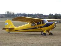 CX-AGP @ SUCA - CX-AGP Aeronca 11AC Chief del Aero Club Canelones. - by Aeronaves CX