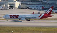 PT-MSO @ MIA - TAM 767-300