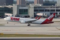 PT-MSV @ MIA - TAM 767-300