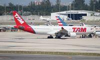 PT-MVB @ MIA - TAM A330