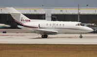 PT-OSW @ FLL - Hawker 800