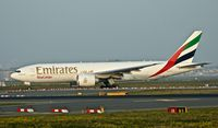 A6-EFJ @ EDDF - Emirates Sky Cargo, is here taxiing at Frankfurt Rhein/Main(EDDF) - by A. Gendorf
