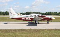 TG-SBO @ LAL - Piper PA-34-200T