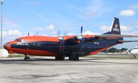 UR-CKL @ OPF - Cavok Air AN-12