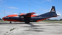 UR-CKL @ OPF - Cavok Air Antonov 12