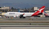 VH-OEE @ LAX - Qantas 747-400