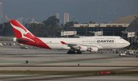 VH-OEH @ LAX - Qantas 747-400
