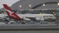 VH-OQE @ LAX - Qantas A380
