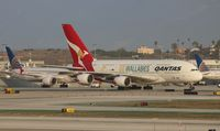 VH-OQH @ LAX - Qantas Wallabies A380