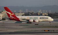 VH-OQH @ LAX - Qantas A380-800