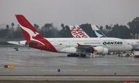VH-OQJ @ LAX - Qantas A380