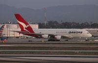 VH-OQL @ LAX - Qantas A380