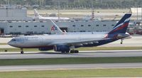 VQ-BBG @ MIA - Aeroflot