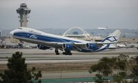 VQ-BVR @ LAX - Air Bridge Cargo 747-8