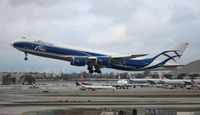 VQ-BVR @ LAX - Air Bridge Cargo