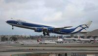 VQ-BVR @ LAX - Air Bridge Cargo