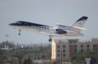 XB-YJA @ FLL - Falcon 50
