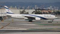 4X-ECD @ LAX - El Al 777-200