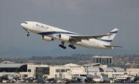 4X-ECD @ LAX - El Al Israel