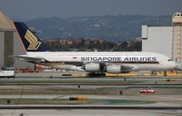 9V-SKN @ LAX - Singapore Airlines A380