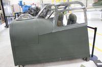 44-50023 @ YIP - B-24 Liberator cockpit