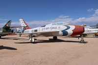 52-6563 @ DMA - F-84F Thunderstreak - by Florida Metal