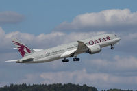 A7-BCP @ LSZH - Departing Zurich - by alanh