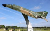 65-0747 @ ORL - F-4D Phantom at Kittinger Park Orlando - by Florida Metal
