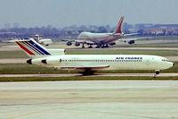 F-BPJL @ EGLL - Boeing 727-228 [20203] (Air France) Heathrow~G 23/05/1978. From a slide.
