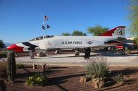 66-0294 - Thunderbirds F-4E Phantom at American Legion Post 109 Corona De Tucson AZ - by Florida Metal