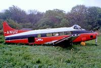 G-ANUU @ EGKB - De Havilland DH.104 Dove 6 [04455] Biggin Hill~G 17/05/1981. From a slide